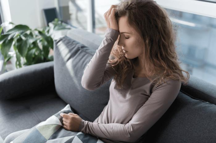 Adoption birth mother deals with postpartum depression